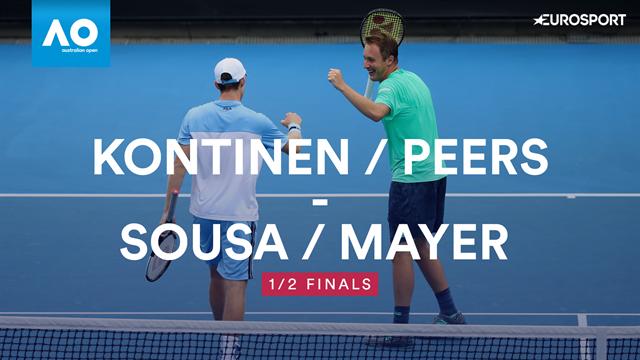 Kontinen / Peers oust Mayer / Sousa to make Australian Open final
