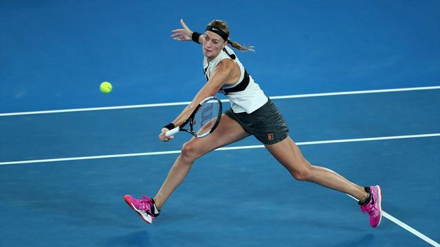 'What a beautiful rally' - Petra Kvitova begins to dominate
