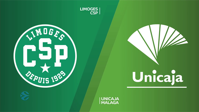 Highlights: Limoges CSP-Unicaja Malaga 77-78