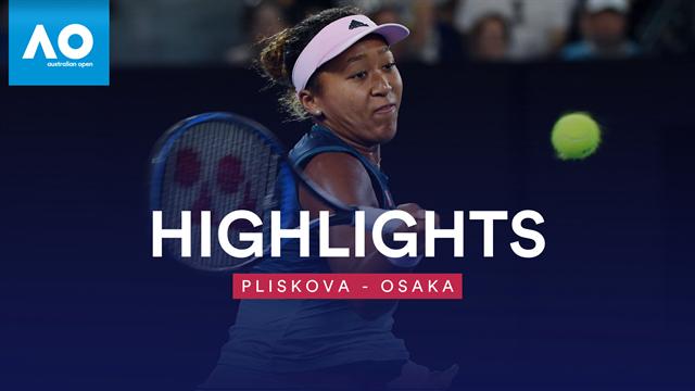 Duell auf höchstem Niveau: Osaka triumphiert gegen Pliskova
