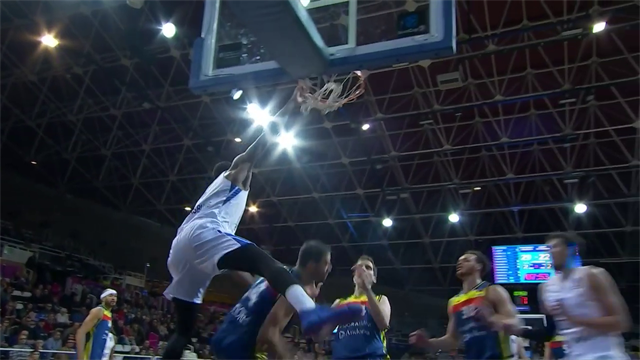 Eurocup, Dunk of the Night: Jalen Reynolds, Zenit San Pietroburgo