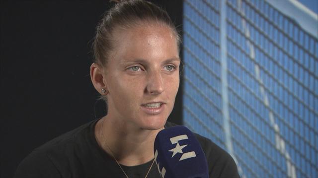 Pliskova: Serena match took it out of me