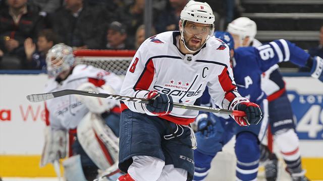 Овечкин обошел Федорова и стал самым результативным русским в истории НХЛ