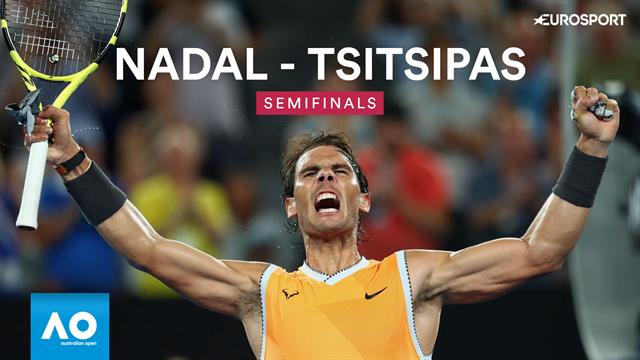Open Australia 2019: El resumen del arrollador triunfo de Nadal ante Tsitsipas que vale una final