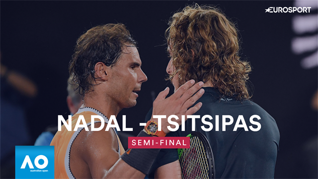 Highlights: Watch Nadal's awesome semi-final demolition of Tsitsipas