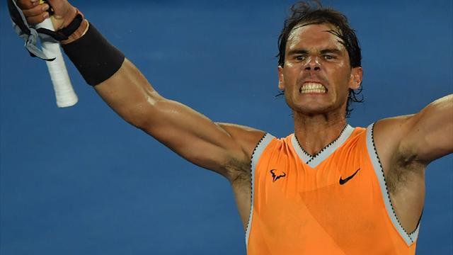 Un grand Nadal a submergé Tsitsipas : le best of d'une démonstration
