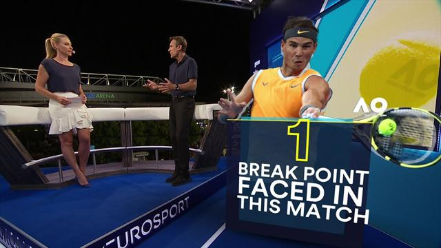 Wilander analysis: The new backhand which has taken Nadal to another level