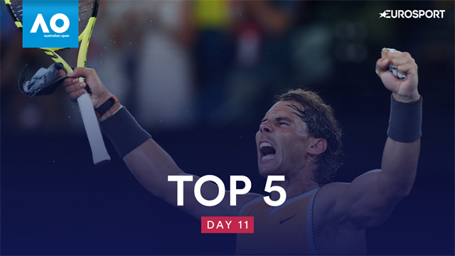 Top shots of the day as Nadal and Osaka star in Melbourne