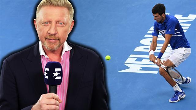 Becker: Deshalb muss Djokovic vor Pouille auf der Hut sein