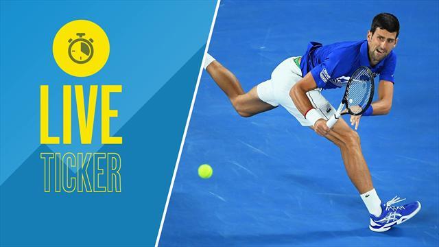 LIVETICKER Australian Open: Wer folgt Nadal ins Finale?