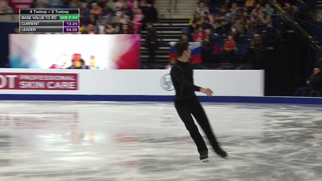 Javier Fernandez sizzles to sit third in European Championships