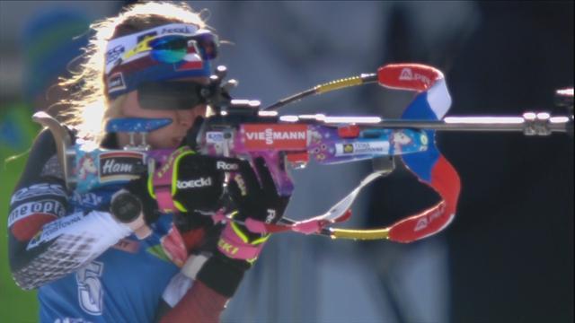 Триумф юной чешки и провал Дальмайер на последнем круге в сенсационном спринте Антерсельвы