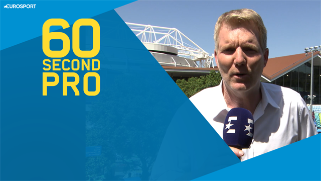 60 Second Pro: Jim Courier's tips for the perfect post-match interview