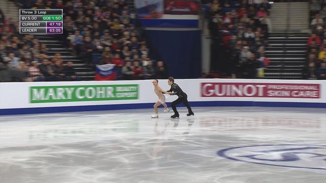 Aleksandra Boikova and Dmitrii Kozlovskii take third in Minsk