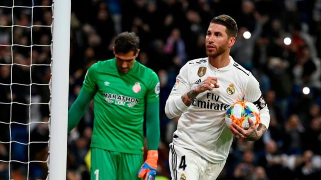 Sergio Ramos fa 101 e 102 e il Real Madrid batte il Girona 4-2! Sanabria lascia il Betis con un gol