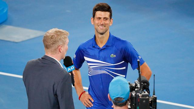 Djokovic: – En av de beste kampene jeg har spilt på denne banen