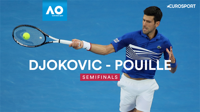 Highlights: See how Djokovic demolished Pouille in one-sided semi-final