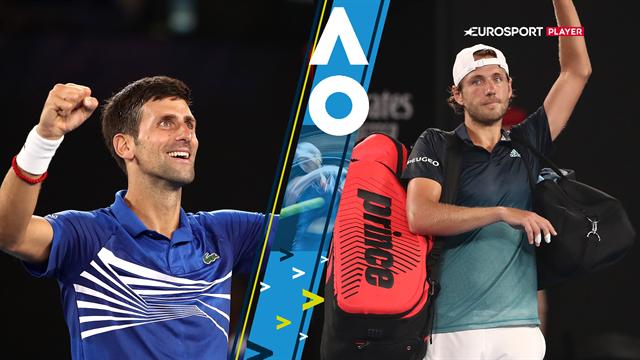 Highlights: Suveræne Djokovic smadrede Pouille og er nu klar til finale mod Nadal