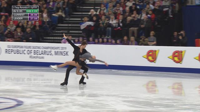Великолепное танго Степановой и Букина, которым они пробили 80-балльную отметку