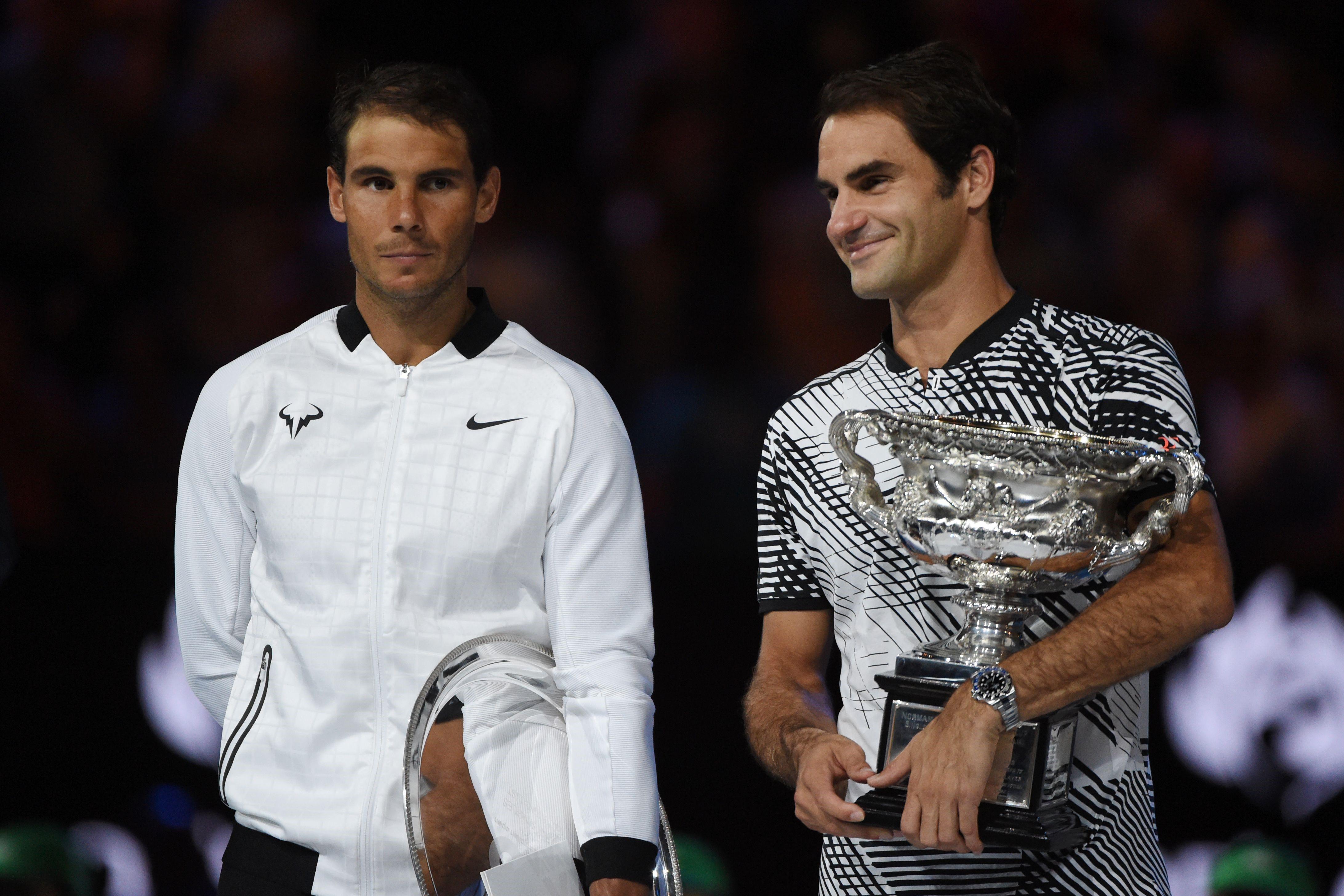 Rafael Nadal & Roger Federer (2017 Avustralya Açık)