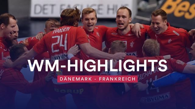Lehrstunde für den Weltmeister: Hansen führt furiose Dänen ins Finale
