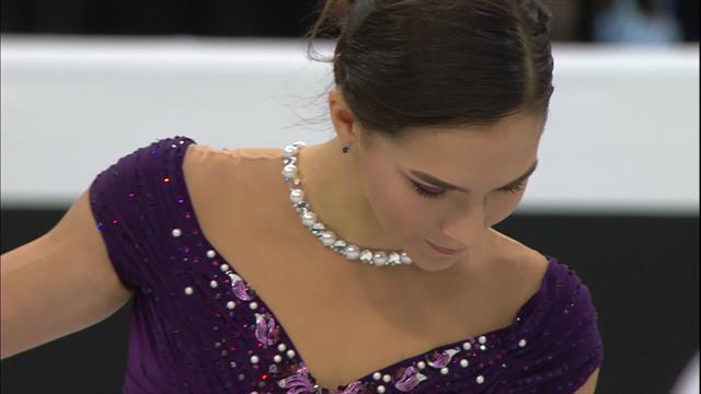 Stanislava Konstantinova has to settle for second