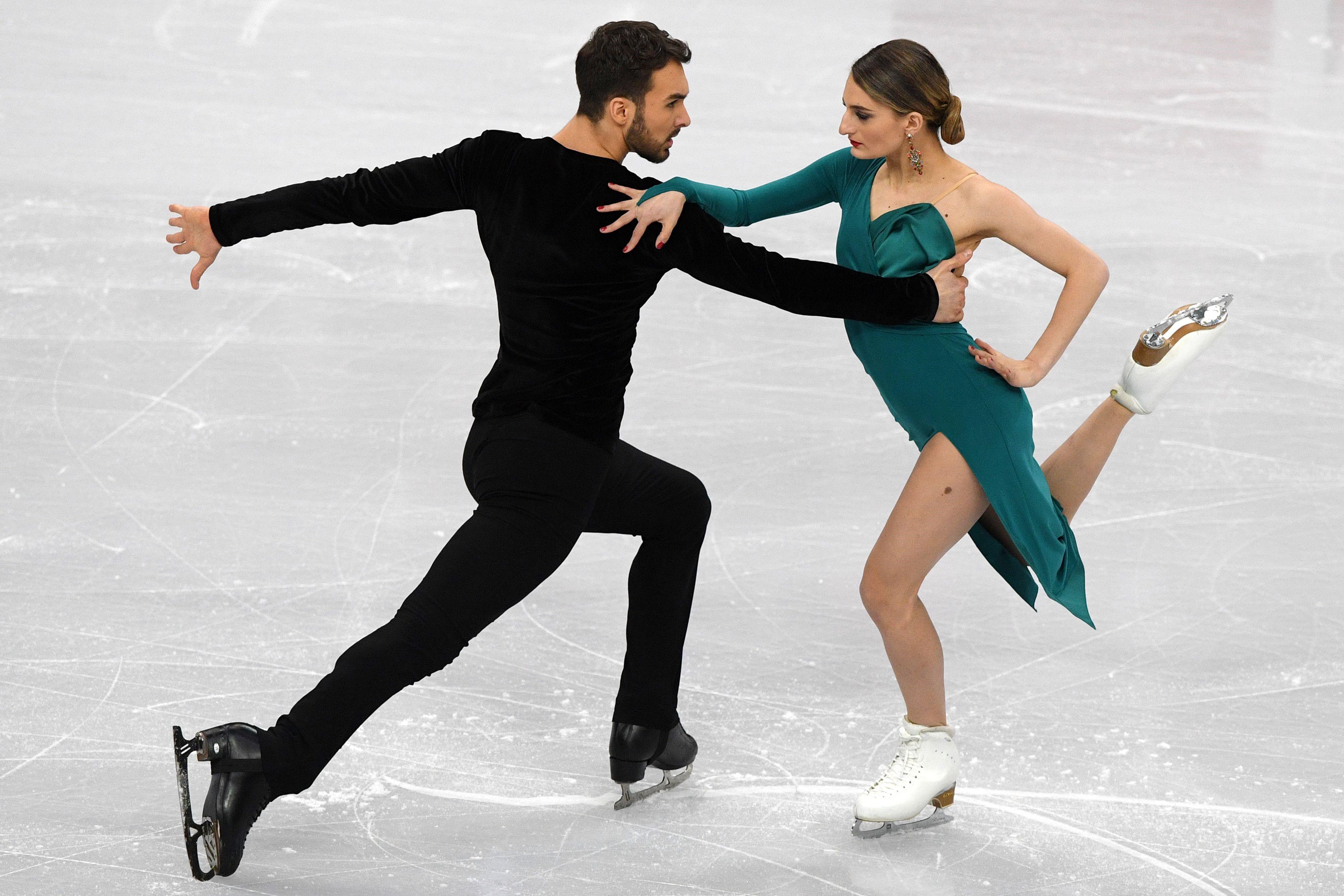 Gabriella Papadakis et Guilluame Cizeron au Championnat d'Europe 2019