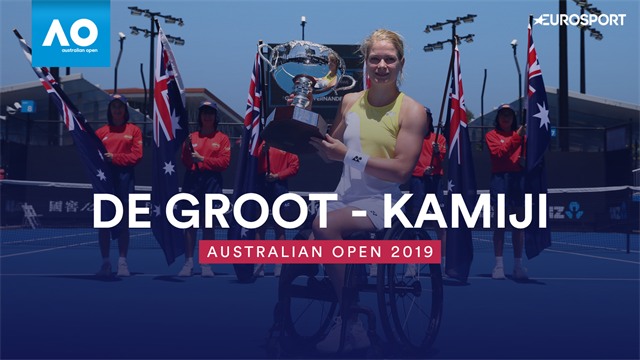AO | Diede De Groot oppermachtig in finale Australian Open