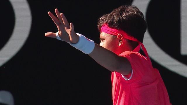 Das krummste Ass der Australian Open: No-Let-Rule regt Youngster massiv auf