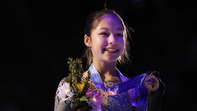 A 13 ans, Liu devient championne des Etats-Unis !