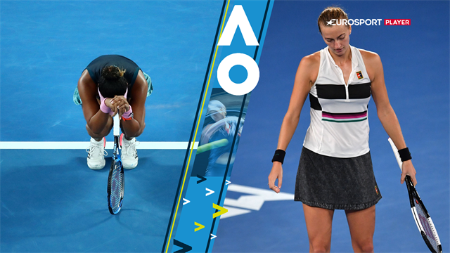 Highlights: Osaka overvandt Kvitova og viste ekstrem mental styrke i maratonfinale
