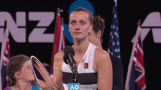 'I didn't know if I could hold a racket again' - teary Kvitova opens up after comeback from stabbing
