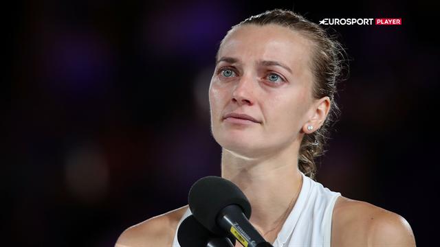 Kvitova: Tak for at støtte mig, selv da jeg ikke vidste, om jeg ville holde en ketcher igen