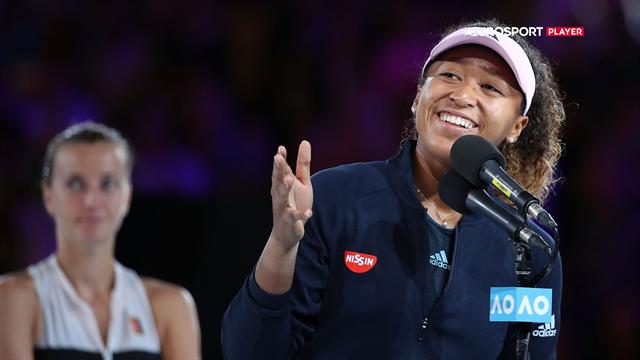 Osaka: Jeg er virkelig stolt over at have spillet imod Kvitova i finalen