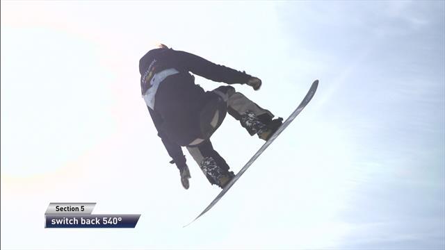 Isabel Derungs wins slopestyle in Seiser Alm