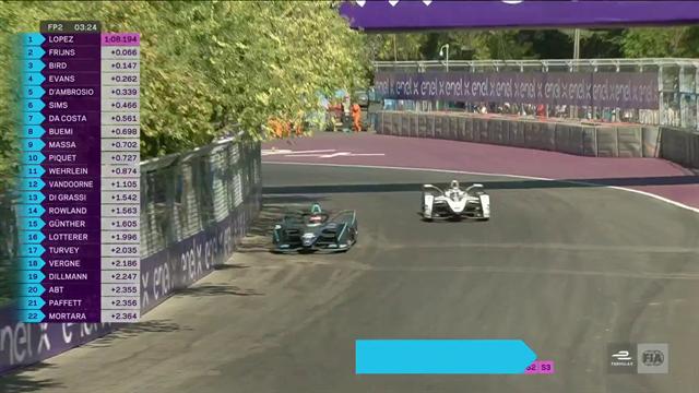 ePrix de Santiago: 'Pechito' López domina la segunda sesión de libres