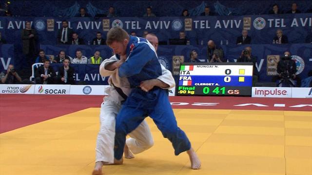 Nicholas Mungai argento 90 kg, sesto podio italiano nel Grand Prix di Tel Aviv