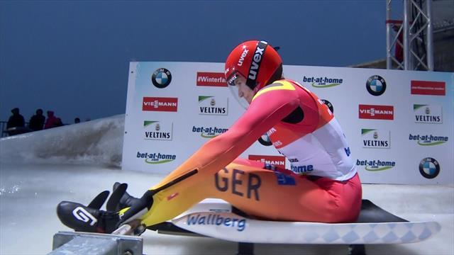 Geisenberger slides to victory in Winterberg