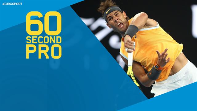60 Second Pro: Corretja reveals the secrets of Nadal's new serve