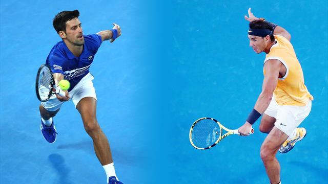 Djokovic ou Nadal ? Nos pronostics pour la finale