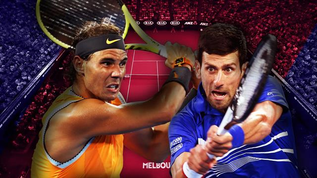 Watch LIVE: 'Greatest rivals' Djokovic and Nadal do battle in final