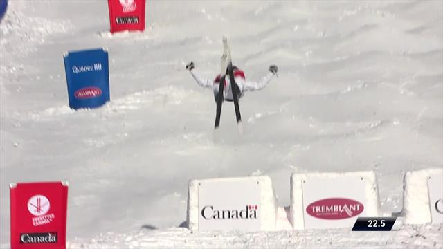 Perrine Laffont claims moguls win in Mont Tremblant