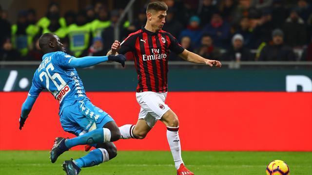 Milan-Napoli, Pioli a Sky Sport: