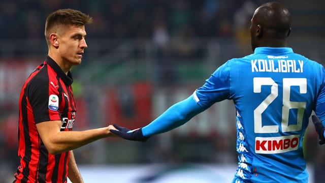 Le pagelle di Milan-Napoli 0-0: Koulibaly rientra e non sbaglia nulla, male Kessié. Piatek positivo