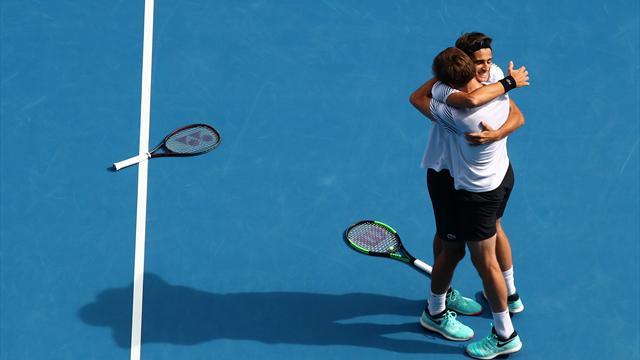 Эрбер и Маю выиграли парный Australian Open и собрали карьерный «Шлем»