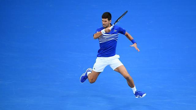 La masterclass de Djokovic en cinq stats