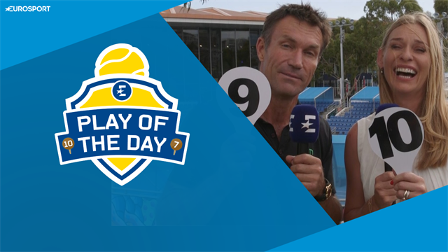 Re-Play of the Day: The craziest moments of the Australian Open