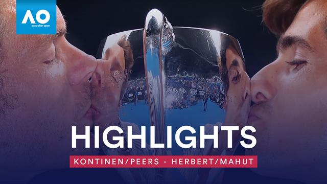 Französisches Duo brilliert: So sicherten sich Mahut/Herbert den Doppel-Titel