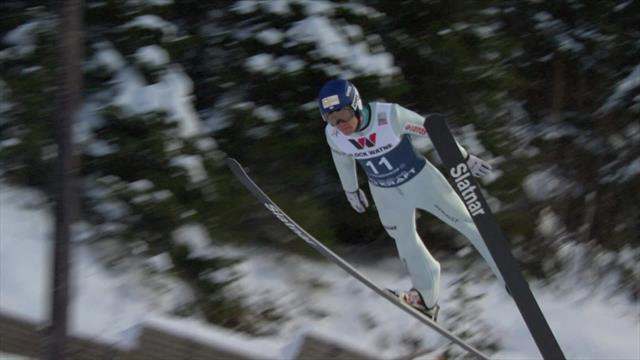 Kupczak Szczepan jumps 134m to take lead in Trondheim