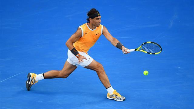 Nadal, Federer ou Chardy : les plus beaux passing-shots vus à Melbourne